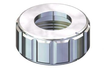 Safety retainer ring for 25mm port