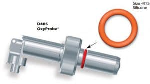 D405 oxyprobe with R15 silicone o-ring