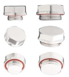 Blind Stopper Threaded Plugs (M18 port)
